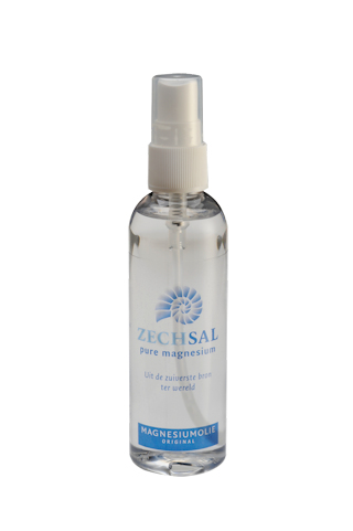 Zechsal magnesium olie, 100 ml; Met gratis tube Hair and Bodywash.