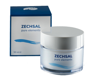 Zechsal Pure elements Balancing cream, 50 ml  . Met gratis tube Hair and Bodywash.
